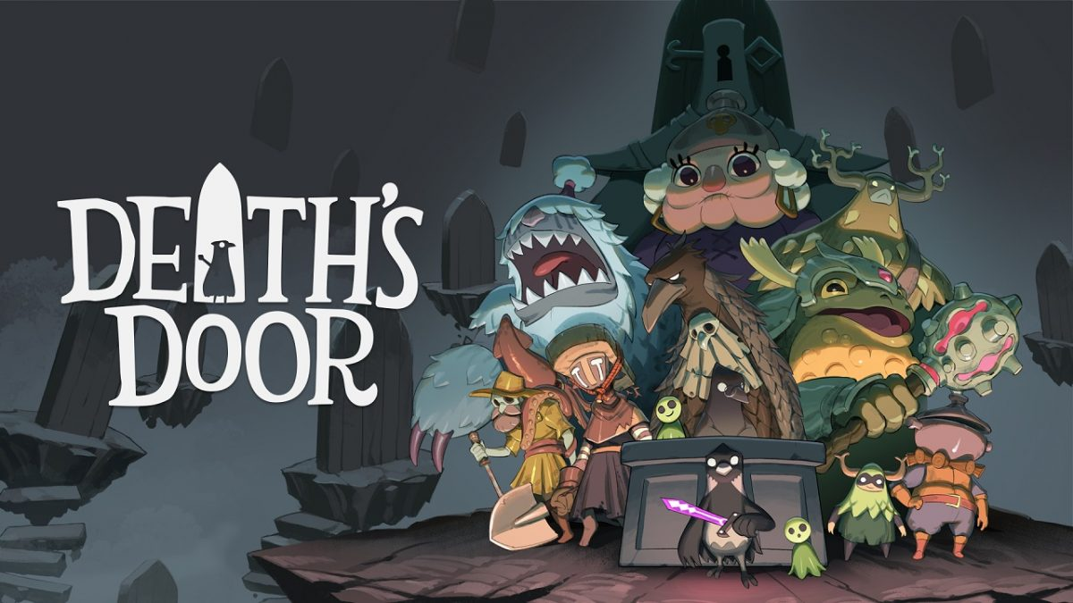 Death's Door - Copertina