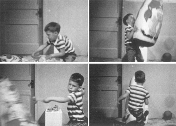 Esperimento di Albert Bandura.