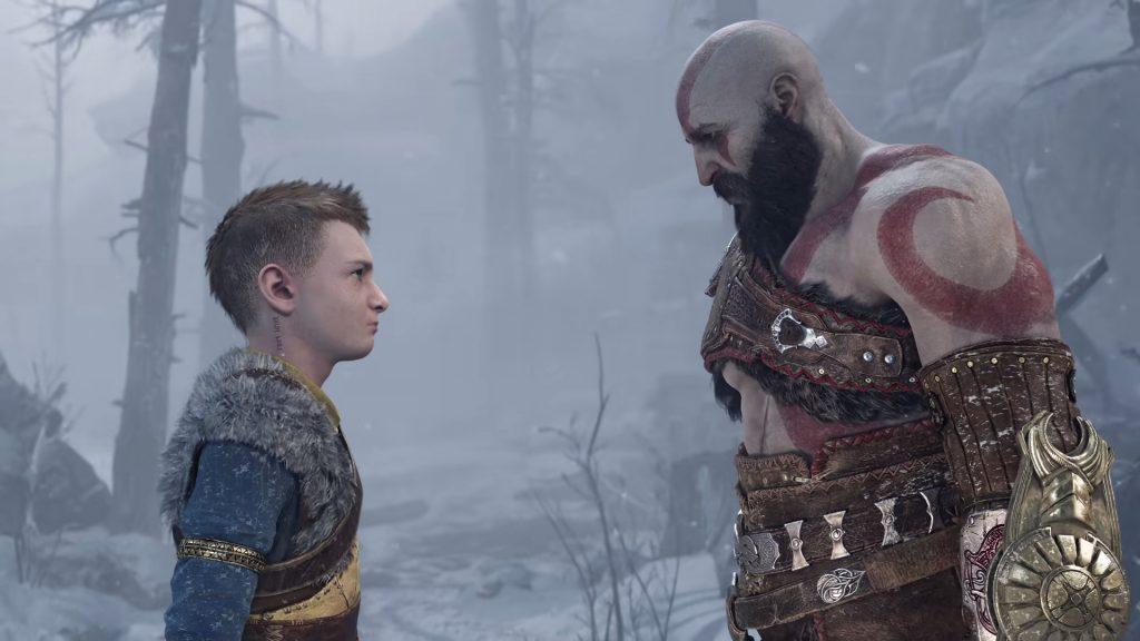 Atreus in God Of War Ragnarök