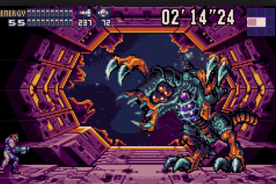Metroid Omega chiude la storia di Fusion.
